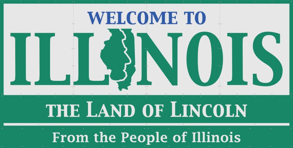 Illinois State Sign